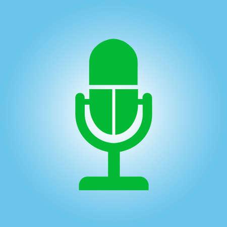 Speaker icon illustration.