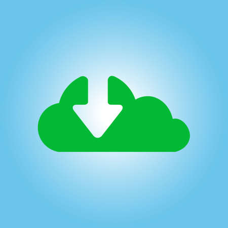 Download  from cloud icon.