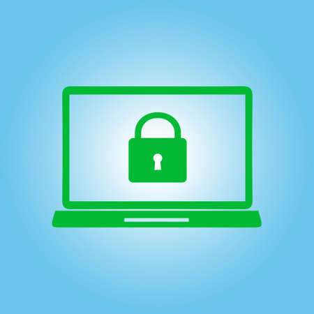 unlocking: Internet security concept  icon. Identification and protection symbol.