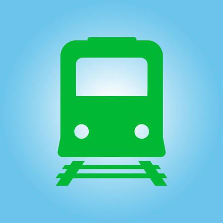 storehouse: Train icon. Metro symbol. Railway station sign.