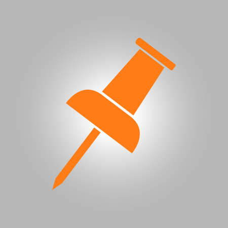 Push pin icon. Attach a note. New Reminder. Create a bookmark. Illustration