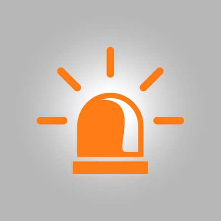 security lights: Police single icon. Alarm Power button. Police call button.