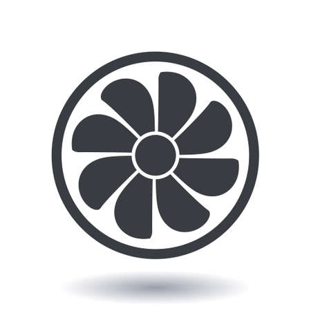 Ventilation sign symbol.