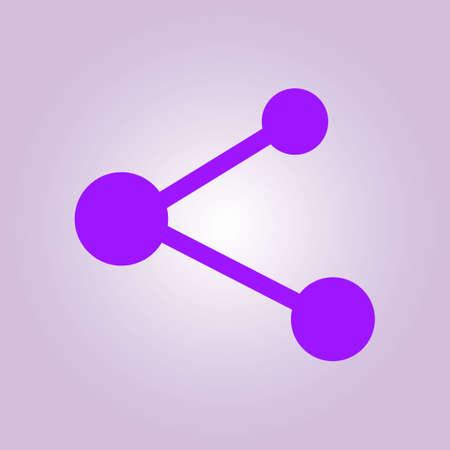Share  sign symbol.