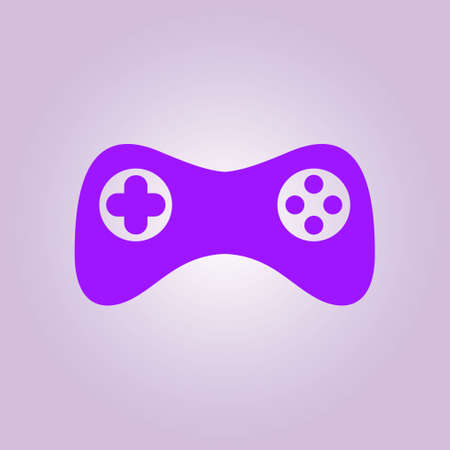 Joypad sign simbol. Illustration