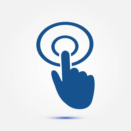 10 fingers: Click hand icon pointer.