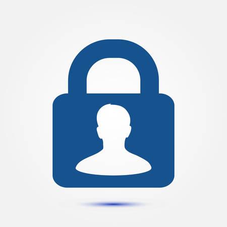 Icon of lock.