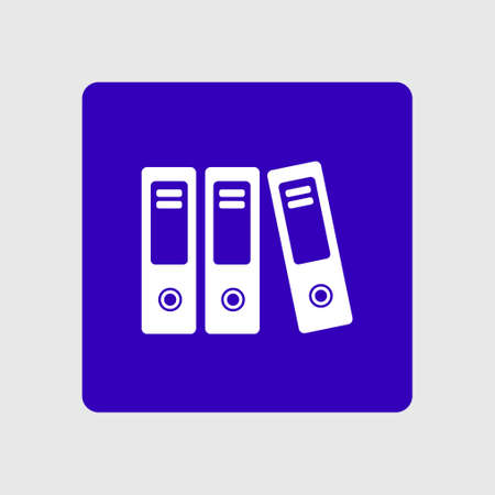 Office folder sign symbol.