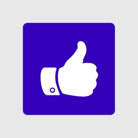 10 fingers: Like sign symbol.