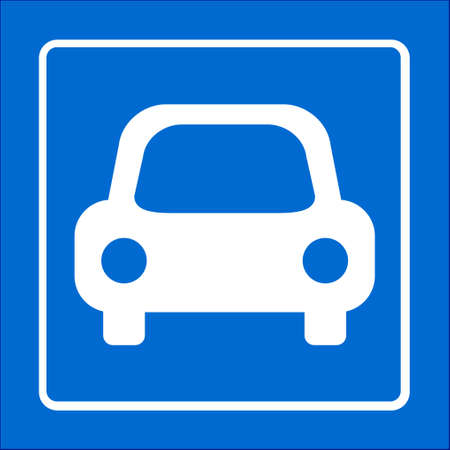 car speed: Transport icon. Car sign. Delivery transport symbol. Illustration
