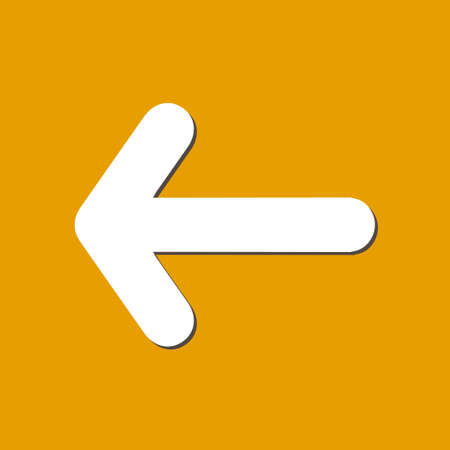 background next: Arrow icon. Pointer direction for land navigation. Illustration