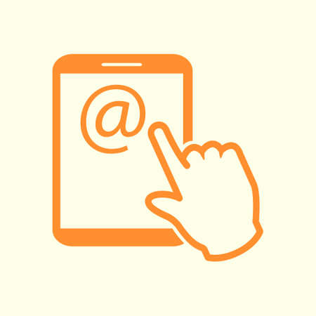 Touchpad sign symbol.
