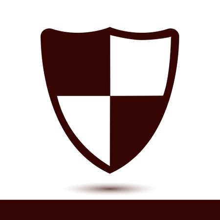 Guardian shield symbol. Illusztráció