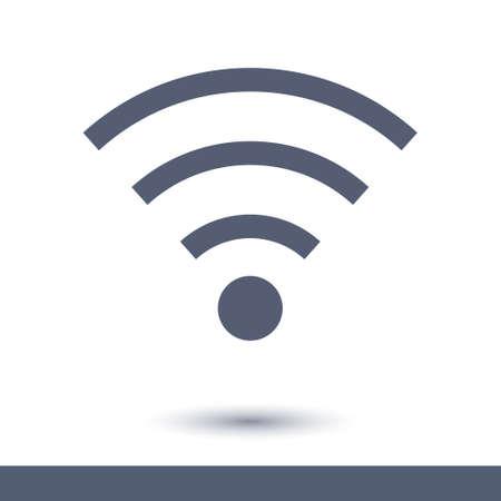 Wifi sign symbol.