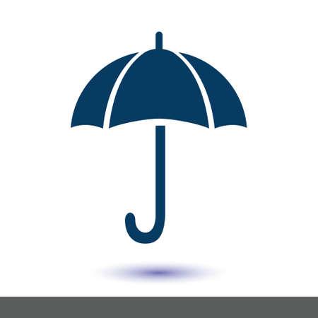 Umbrella sign symbol.