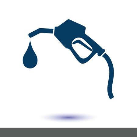 가솔린 펌프 노즐.