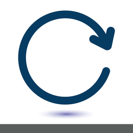 Arrow sign symbol.