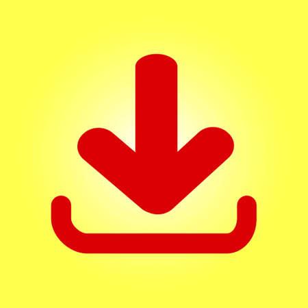 Load  sign symbol. Illustration