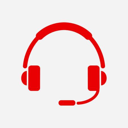 Icône plate du support. Signez le centre d'appel. Contactez le support technique. Appelez et nous vous répondrons. Banque d'images - 84747027