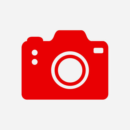 Red camera icon.
