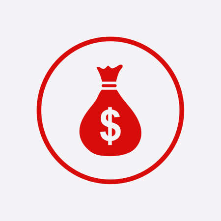 Dollar currency symbol Illustration