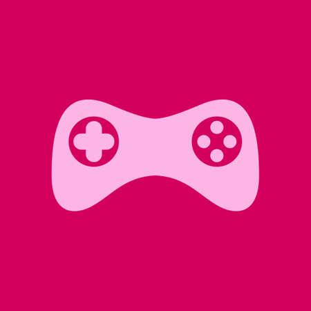 Gamepad icon. Vector. Flat design style. Joypad symbol. Illustration