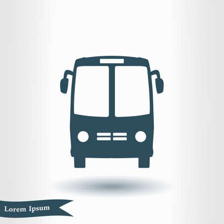 International bus tour icon.