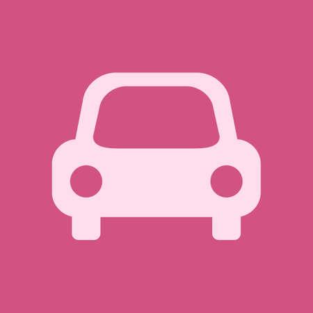 Transport icon, Car sign vector illustration