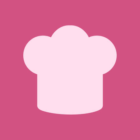 Chef hat sign icon Hat cooking symbol vector illustration
