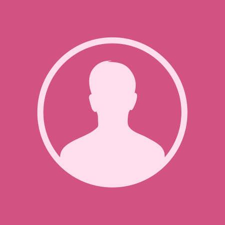 User sign icon Person symbol Human avatar vector illustration Çizim