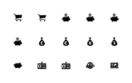Simple set of trade icons