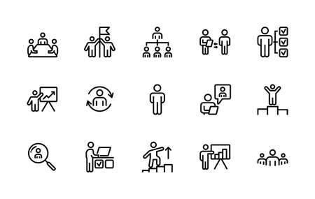 A simple set of New Year and Christmas related vector linear icons. Contains icons such as: Tree, Spruce, Firework, Flapper, Gift, Box, Christmas ball, Bell. 48x48 Pixel Perfect. Editable stroke.