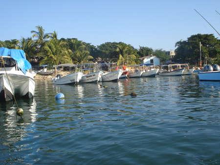 Mexican dok turystycznym w Punta Mita dla wielorybów