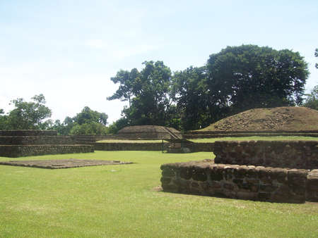 Archaeological site of Izapa in Chiapas, Mexico