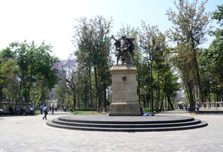 beethoven: Beethoven monument in Alameda Central in Mexico city