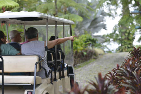 Ecotourism in Mexican rainforest