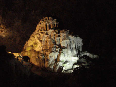 large formation: Grutas of Cacahuamilpa Caverns from Mexico