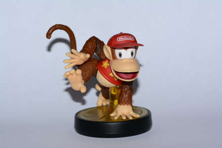wii: Super Smash Amiibo Diddy Editorial