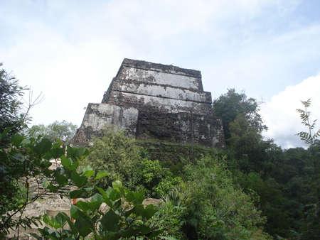 morelos: El Tepozteco archaeological zone in Tepoztlan Mexico