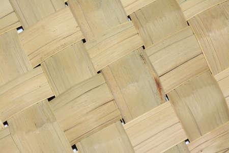 wicker work: Handcraft weave texture natural wicker background