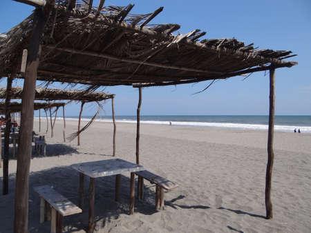 linda: Playa Linda beach in Chiapas, Mexico Stock Photo