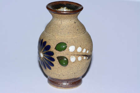Mexican Traditional Vase Clay Artcraft Stock Photo Picture And