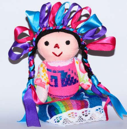rag doll: Mexican traditional doll, Maria rag doll Stock Photo