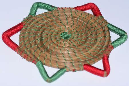 handimade: Mexican traditional coaster cup artcraft