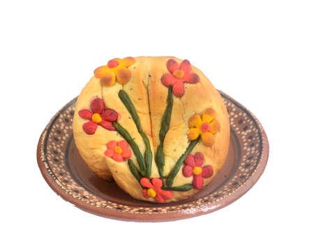 オアハカ州の伝統的なメキシコ産卵黄パン