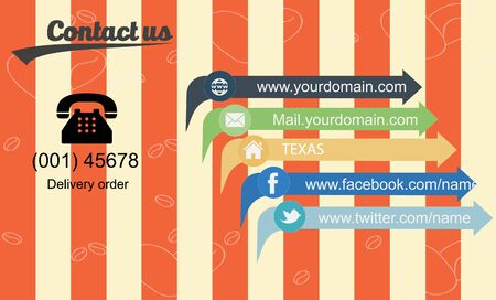 cafe contact for delivery order