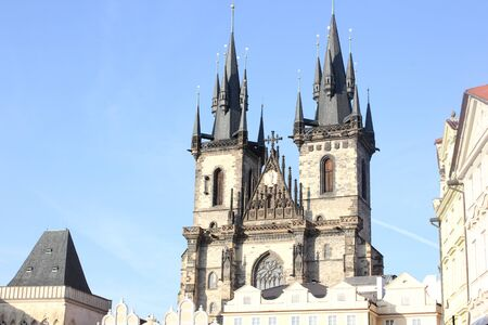 our: Church of our Lady before Tyn, Prague, Czech Republic