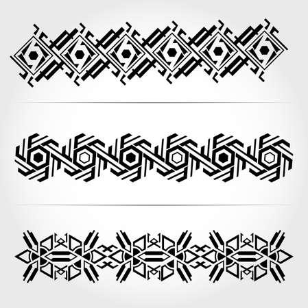 Set Element decoration for design or web