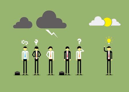 Businessman People Vector Illustration Illustration