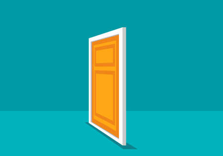 Door vector illustration 矢量图像